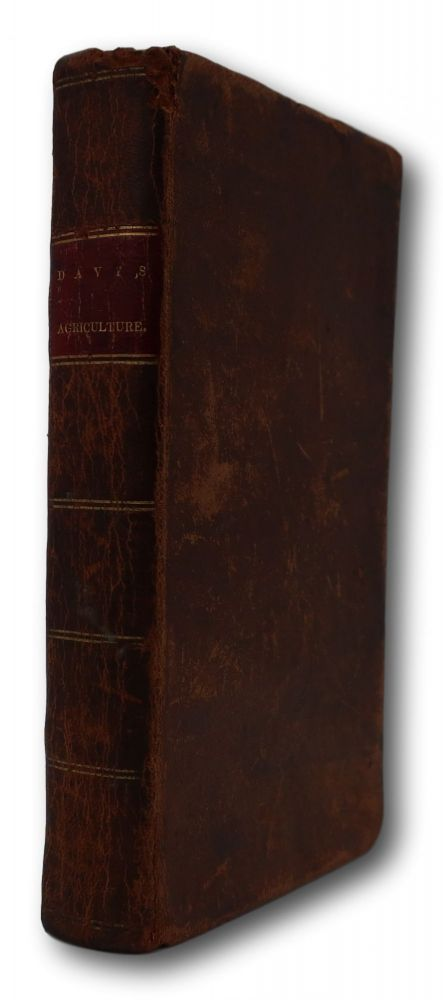 Elements Of Agricultural Chemistry, In A Course Of Lectures For The Board Of Agriculture.; With An Appendix, Containing A Series Of Experiments To Test The Value Of The Grasses Cultivated In Great Britain. Second American Edition. To Which Is Added Practical Remarks On Some Of The Manures Mentioned In The Lectures. Humphry Davy.