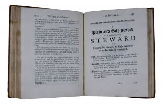 The Duty of A Steward to his Lord. Represented under Several Plain and Distinct Articles; wherein may be seen the Indirect Practices of several Stewards, tending to Lessen, and the several Methods likely to Improve their Lords Estates. To which is added an Appendix, Shewing The Way to Plenty, Proposed to the Farmers; wherein are laid down general Rules and Directions for the Management and Improvement of a Farm. Both Design'd originally for the Use of several Stewards and Tenants of His Grace the Duke of Buckingham, and Now Improv'd and publish'd for the general Use and Interest of All the Nobility and Gentry throughout England.